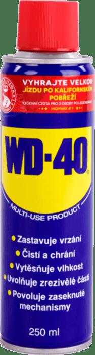 WD-40 - 250 ml univerzální mazivo