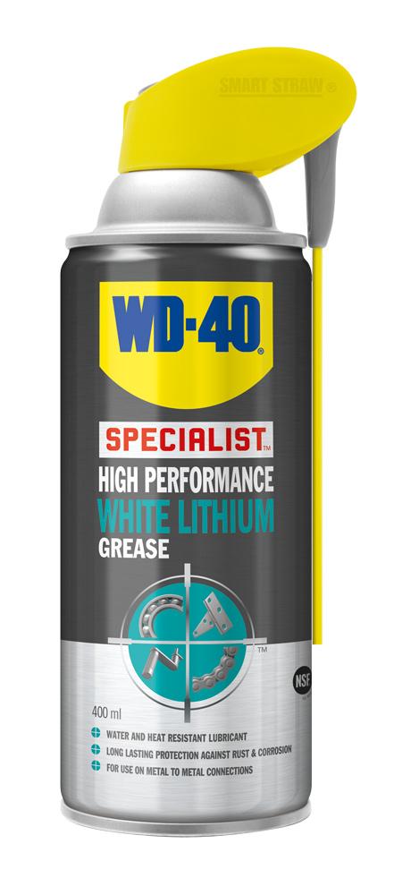 WD-40 Specialist Bílá lithiová vazelína 400ml sprej