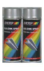 MOTIP Aluzinkový sprej 400ml aluzinkový sprej je vysoce účinná základová barva s vysokým obsahem zin
