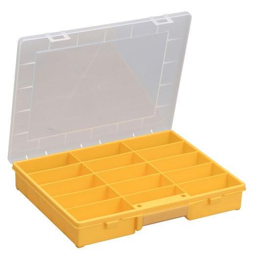 ALLIT Plastový kufřík s pevným vnitřním dělením EuroPlus Basic 37/15 457240