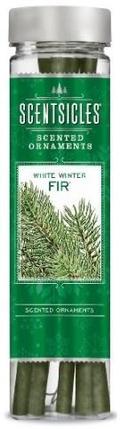 Z-Trade ScentSicles White Winter Fir (zasněžená jedlička) 6 ks vonných klacíků v lahvičce