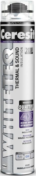 HENKEL Ceresit Whiteteq TaS Gun 750 ml