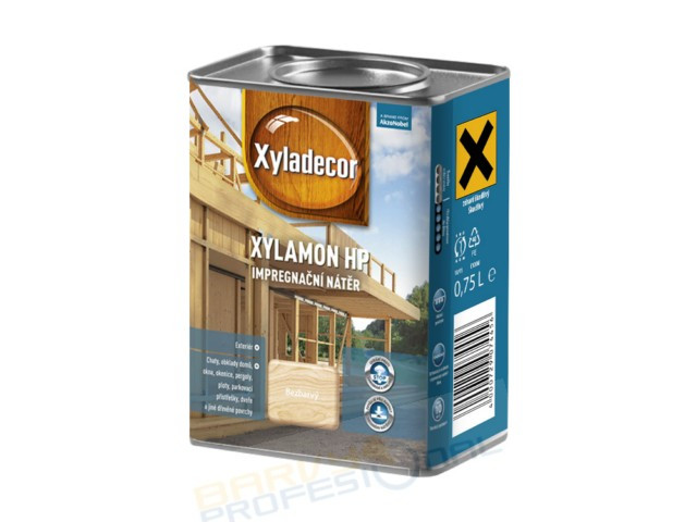 XYLADECOR XYLAMON HP 0,75L - impregnační nátěr