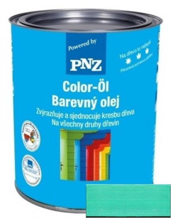 PNZ Barevný olej pastellgrün / pastelově zelená 0,25 l