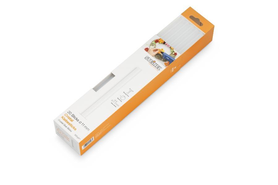 STEINEL CRISTAL - Lepící tyčinky 11mm/500 g