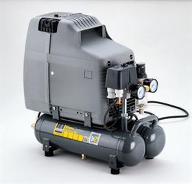 SCHNEIDER SEM 110-8-6 WOF bezolej SilentMaster pojízdný kompresor A311001